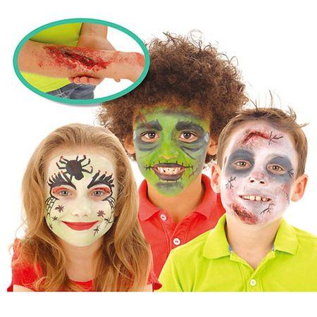 Грим за Хелоуин - Нарисувай лицето си Зомби