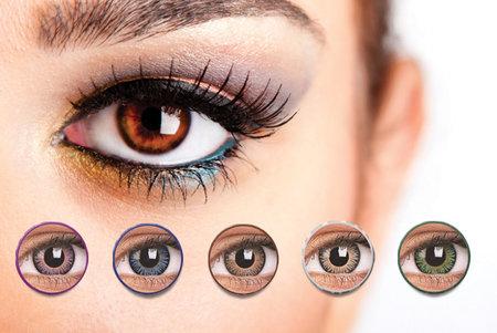 Цветни лещи - страхотна идея за промяна на имиджа