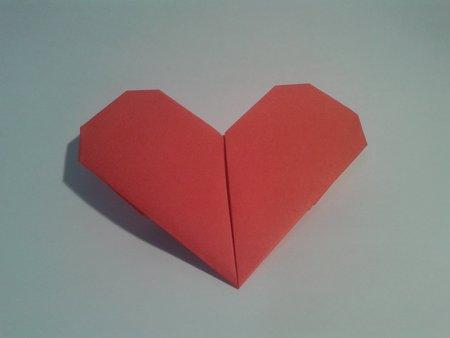 Как да си направим оригами сърце