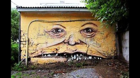Топ 100 на най-креативното улично изкуство