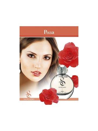 Парфюм с аромат на Роза. Колекция цветя SANGADO.
