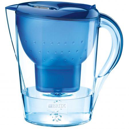 Кана за филтриране на вода Brita Marella XL BR100317, 3.5 л, Синя