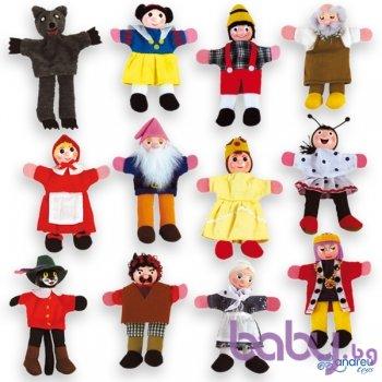 Andreu Toys Кукли за пръсти за куклен театър