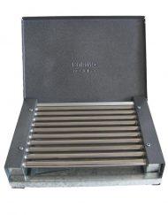 Електрическа скара Rubino ЕС- 0.9К, 900 W, Тавичка за мазнина