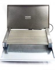 Електрическа скара с капак RUBINO ЕС 1.6К, 1600W