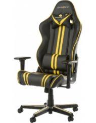 Геймърски стол DXRacer Racing Black Yellow