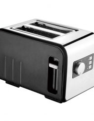 Тостер за хляб ZEPHYR ZP 1440 T, 800W, 2 филийки, Черен