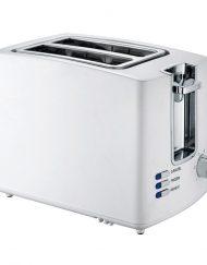 Тостер за хляб ZEPHYR ZP 1440 U, 800W, 2 филийки, Бял
