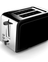 Тостер за хляб ZEPHYR  ZP 1440 ZV, 850W, 2 филийки, Черен