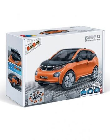 BANBAO Конструктор BMW I3 ОРАНЖЕВ B6802-2