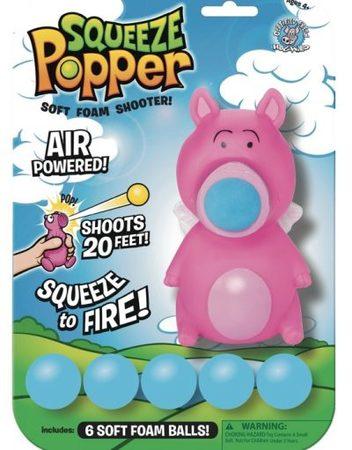 SQUEEZE POPPERS Изстрелвачка с топчета ПРАСЕ