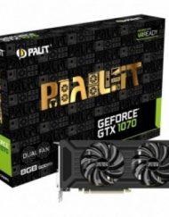 Видеокартa Palit nVidia GTX1070 Dual 8GB GDDR5X