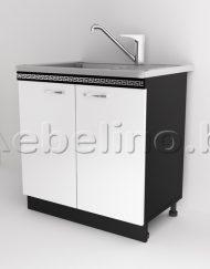 Кухненски модул Д2 за бордова мивка