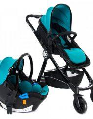 KIKKA BOO Комбинирана количка 2в1 ALLURE СЕТ BLUE 110091