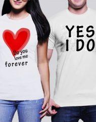 Комплект тениски за НЕГО и НЕЯ