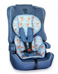 LORELLI CLASSIC Стол за кола 9-36 кг. EXPLORER BLUE CUTE BEARS 1007089/1859