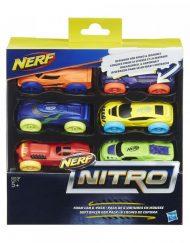 NERF Комплект колички 6 бр. NITRO C3171
