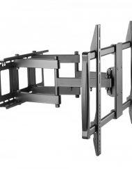 TV BRACKET, Sunne, 60''-100'', max 80kg, max VESA 200x900, Swivel -45/+45°, Tilt -15/+5 ° (60-100-EA)