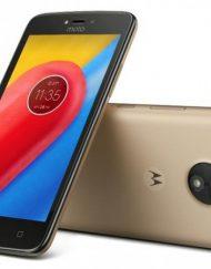 Smartphone, Motorola Moto C, DualSIM, 5'', Arm Quad (1.1G), 1GB RAM, 16GB Storage, Android 7.0, Gold (PA6L0072RO)