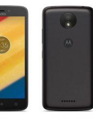 Smartphone, Motorola Moto C+, DualSIM, 5'', Arm Quad (1.3G), 1GB RAM, 16GB Storage, Android 7.0, Black (PA800015RO)