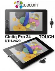 Graphics Tablet, Wacom Cintiq Pro 24 Touch Creative Pen Display (DTH-2420)
