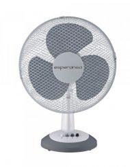 Настолен вентилатор ESPERANSA ES 1760 DC16, 40W, 40 см, 3 скорости, Бял/сив