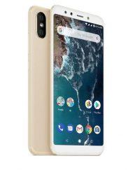 Smartphone, Xiaomi Mi A2, DualSIM, 5.99'', Arm Octa (2.2G), 4GB RAM, 64GB Storage, Android, Gold (MZB6470EU)