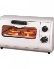 Тостер за сандвичи - фурна SAPIR SP 1441 P, 600W, 9 литра, Таймер, Тавичка, Бял