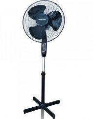 Вентилатор на стойка ESPERANSA ES 1760 B, 40W, 40 см, 3 степени на мощност, Регулиране на височината, Мрежа, Черен