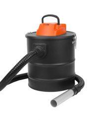 Прахосмукачка за пепел SAPIR SP 1001 CS18, 1000W, 18 литра, Перящ се HEPA филтър, 1,5 метра кабел, Черен