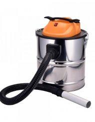 Прахосмукачка за пепел SAPIR SP 1001 DS18S, 1000W, 18 литра, Функция духане, Перящ се HEPA филтър, Инокс