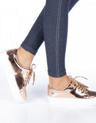 Дамски спортни обувки Senia цвят шампанско