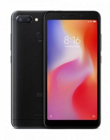 Smartphone, Xiaomi Redmi 6, DualSIM, 5.45'', Arm Octa (2.0G), 3GB RAM, 64GB Storage, Android, Black (MZB6983EU)