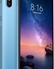 Smartphone, Xiaomi Redmi Note 6 Pro, DualSIM, 6.26'', Arm Octa (2.2G), 3GB RAM, 32GB Storage, Android, Blue (MZB6888EU)