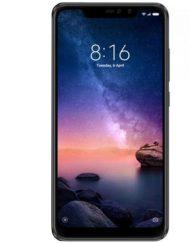 Smartphone, Xiaomi Redmi Note 6 Pro, DualSIM, 6.26'', Arm Octa (2.2G), 4GB RAM, 64GB Storage, Android, Black (MZB6893EU)
