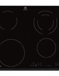 Стъклокерамичен плот за вграждане, Electrolux EHG46341FK, 4 зони