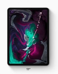 Tablet, Apple iPad Pro Wi-Fi /11''/ A12X Bionic/ 4GB RAM/ 256GB Storage/ iOS12/ Space Grey (MTXQ2HC/A)