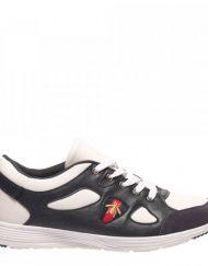 Мъжки обувки Rinden бели със синьо