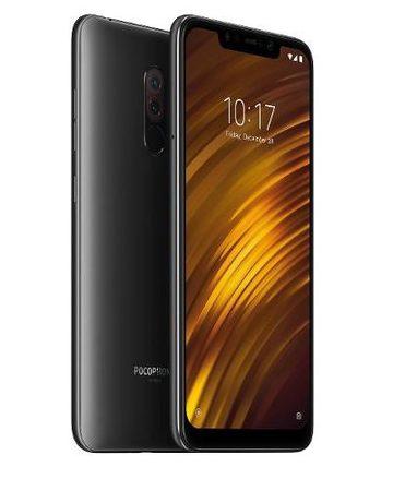 Smartphone, Xiaomi POCOPHONE F1, DualSIM, 6.18'', Arm Octa (2.8G), 6GB RAM, 64GB Storage, Android, Black (MZB6718EU)