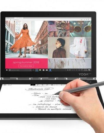 Tablet, Lenovo Yoga Book C930 /10.8''/ Intel Quad (2.4G)/ 4GB RAM/ 64GB Storage/ Android/ Iron Grey (ZA3T0030BG)