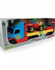 WADER Камион с платформа и фадрома 76 см. 36520