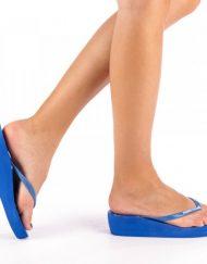 Дамски чехли Freesia кралско синьо