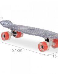 LED Скейтборд със светещи колела 1002231