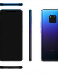 Smartphone, Huawei Mate 20 Pro, DualSIM, 6.39'', Arm Octa (2.6G), 6GB RAM, 128GB Storage, Android, Blue (6901443260768)