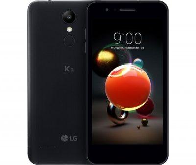 Smartphone, LG K9, 5'', Arm Quad (1.3G), 2GB RAM, 16GB Storage, Android, Black (LMX210EM)