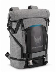 Backpack, Acer Predator Rolltop 15.6'', Gray n Teal Blue (NP.BAG1A.290)