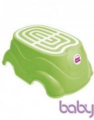 OK Baby Подложка за стъпване и столче Хърби Зелена Цвят 44