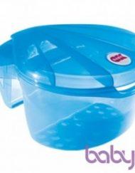OK Baby Поставка за вана за аксесоари Корал Синя Цят 55