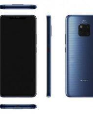 Smartphone, Huawei Mate 20 Pro, DualSIM, 6.39'', Arm Octa (2.6G), 6GB RAM, 128GB Storage, Android, Blue (6901443260751)