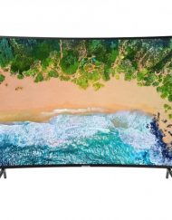 TV LED, SAMSUNG 55'', UE55NU7302, Curved, Smart, 1400PQI, LAN, WiFi, UHD 4K (UE55NU7302KXXH)
